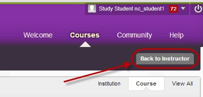 click on back to instructor