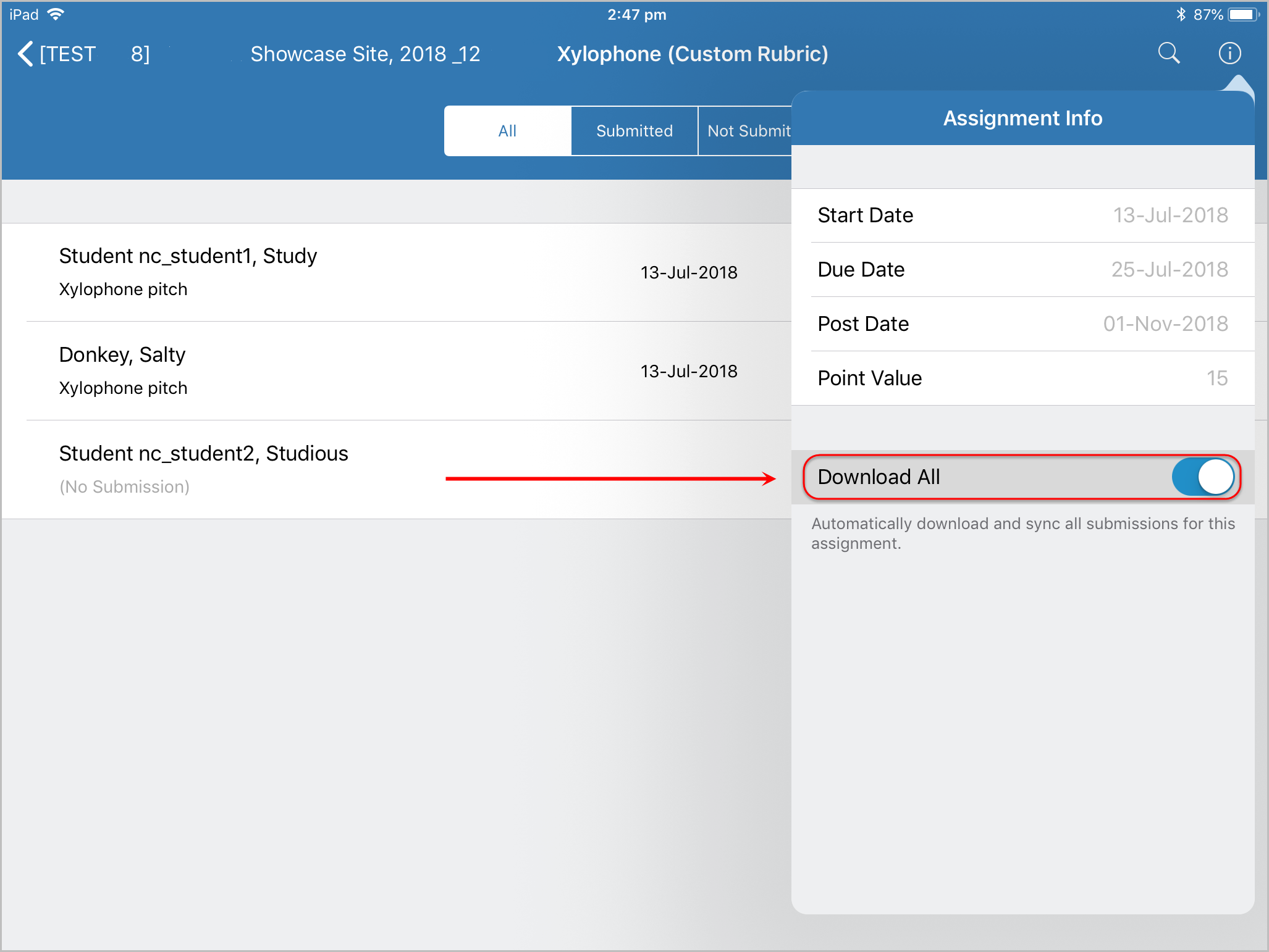 Access Assignments on your iPad - eLearning - University of Queensland