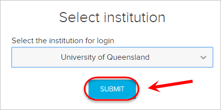 The submit button is highlighted