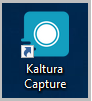 kaltura capture desktop shortcut