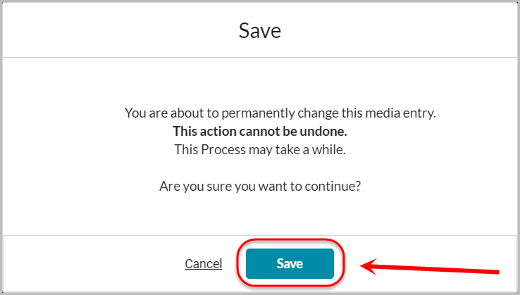 second save button