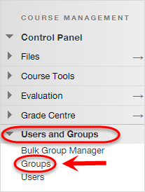 the groups tab is highlighted