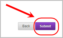 submit button selected