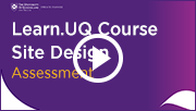 course guidelines assessment