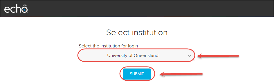 uq dropdown and submit