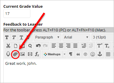 document icon highlighted